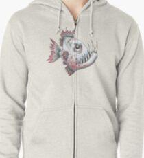 piranha Zipped Hoodie