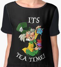 its tea time Chiffon Top
