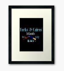 T.C.I Framed Print