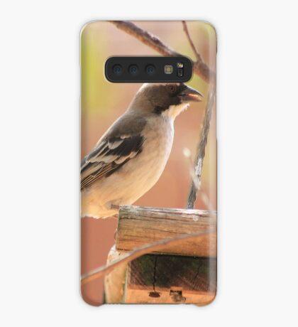 White-browed Sparrow Weaver (Plocepasser mahali) Case/Skin for Samsung Galaxy