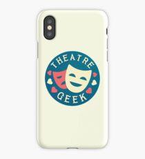 theatre geek iPhone Case/Skin