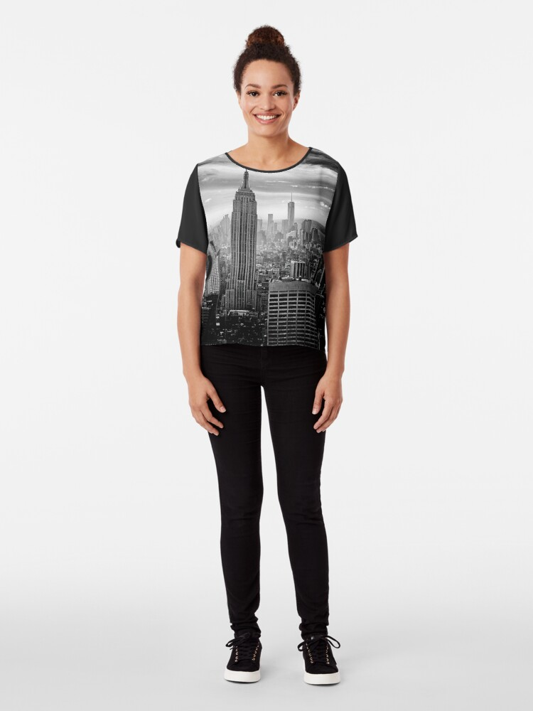 Vista alternativa de Blusa Skyline de la ciudad de Nueva York