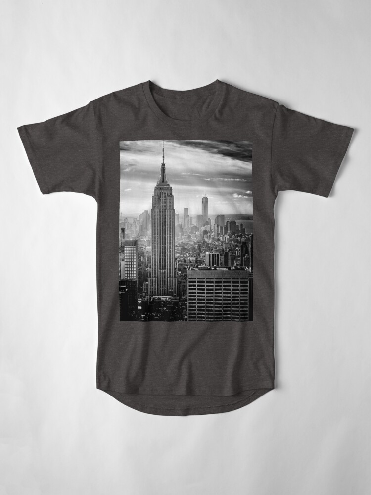 Alternate view of New York City Skyline Long T-Shirt