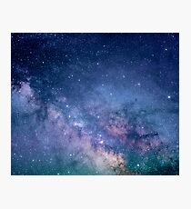 Milky Way Sky Photographic Print