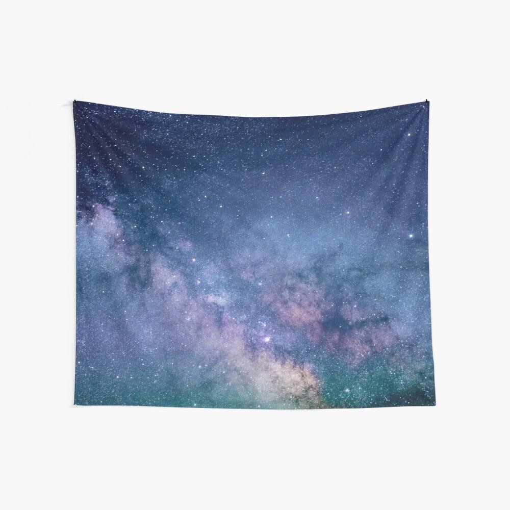 Milchstraße Himmel Wandbehang