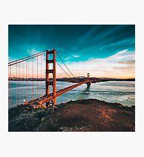 Lámina fotográfica Puente Golden Gate, San Francisco, California - Fotografía