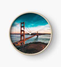 Golden Gate Bridge, San Francisco, California - Photography Clock