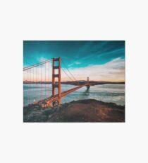 Golden Gate Bridge, San Francisco, California - Photography Art Board