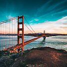 Golden Gate Bridge, San Francisco, California - Photography by Neli Dimitrova