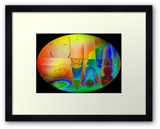 Colours in Reflection-Art Prints-Mugs,Cases,Duvets,T Shirts,Stickers,etc by Robert Burns