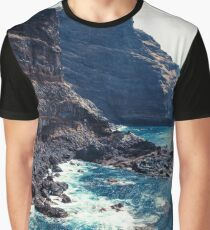 Wild Coast - Tijarafe - La Palma - Canary Islands Graphic T-Shirt