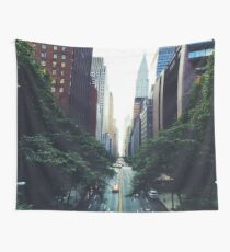 New York City Street Skyscapers #tapestry Wall Tapestry