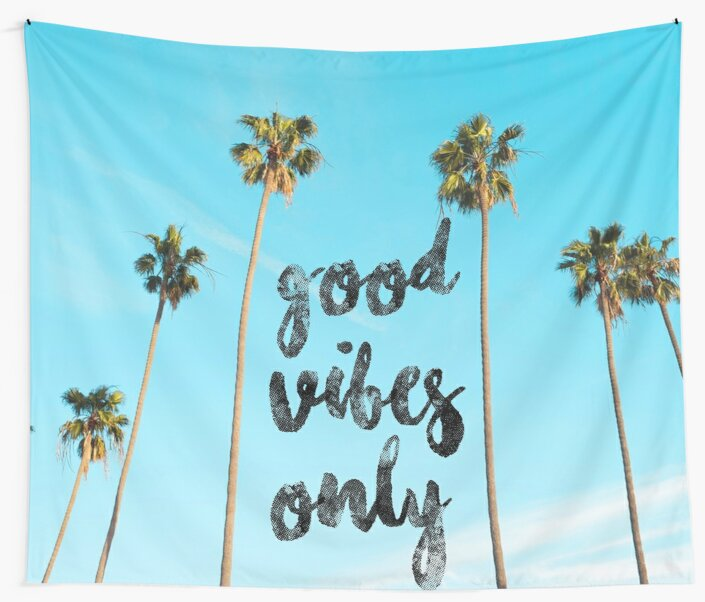 Good LA Vibes Only #redbubble by cadinera