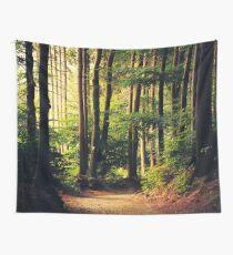 Wälder rufen an Wandbehang