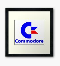 commodore 64 Framed Print