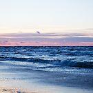 Sea Waves at Sunrise by Neli Dimitrova