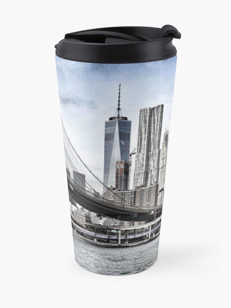 Alternate view of NYC #tapestry #decor #trending Travel Mug