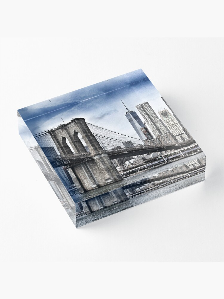 Alternate view of NYC #tapestry #decor #trending Acrylic Block