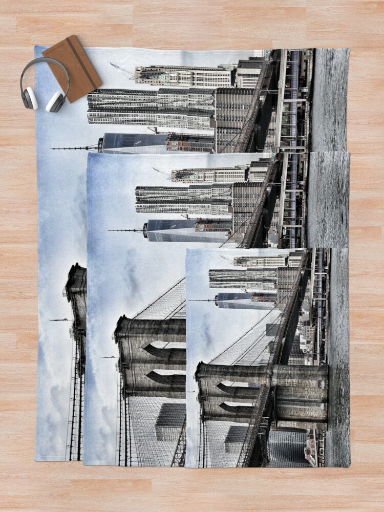 Alternate view of NYC #tapestry #decor #trending Throw Blanket