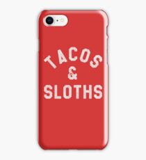 Tacos & Sloths iPhone Case/Skin