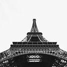 Eiffel Tower, Paris #tapestry #redbubble by Neli Dimitrova