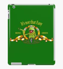 It's not that easy iPad Case/Skin