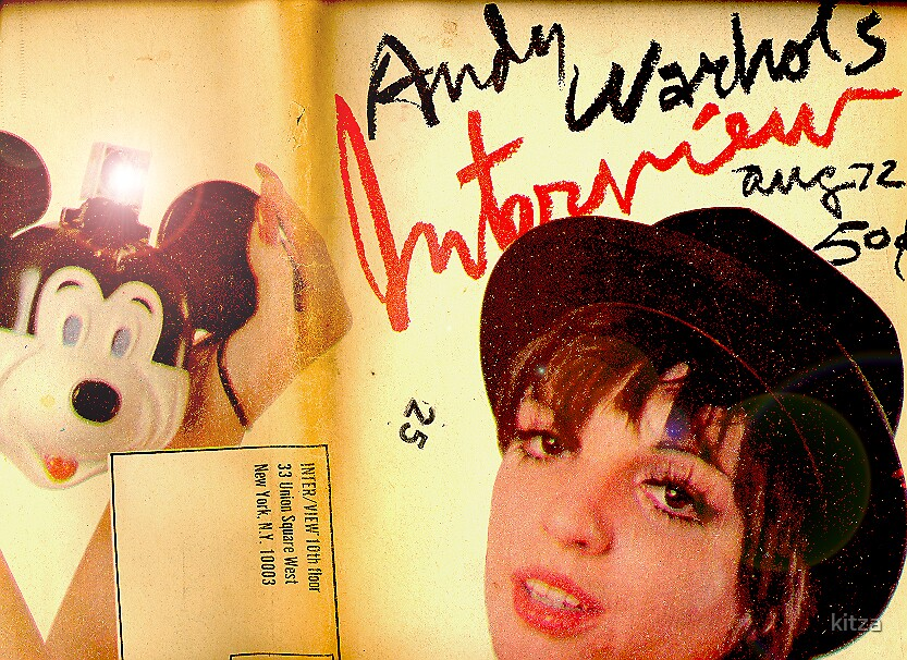 The Andy Warhole interview papers August '72/ restoration by kitza