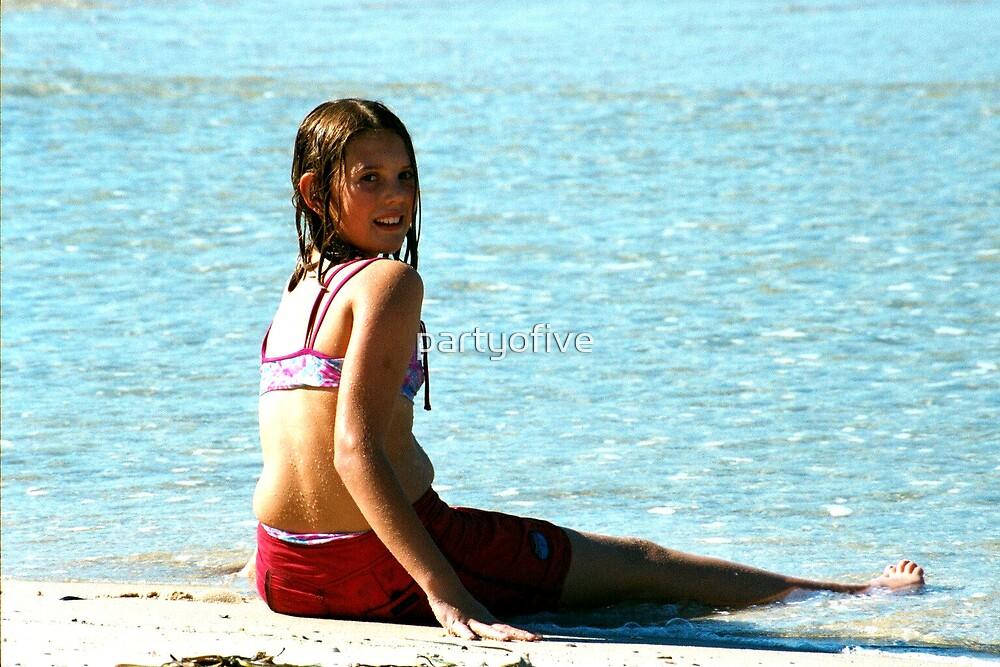 beautiful beach babe... by partyofive