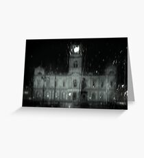Ballarat Town Hall, Winter Greeting Card