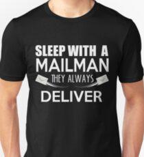 Funny Mailman Pun Mailman Gift T-Shirt