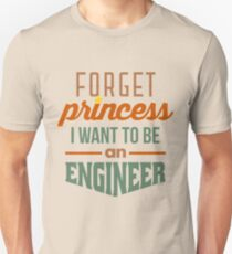 Vergiss Prinzessin - Ingenieur Slim Fit T-Shirt
