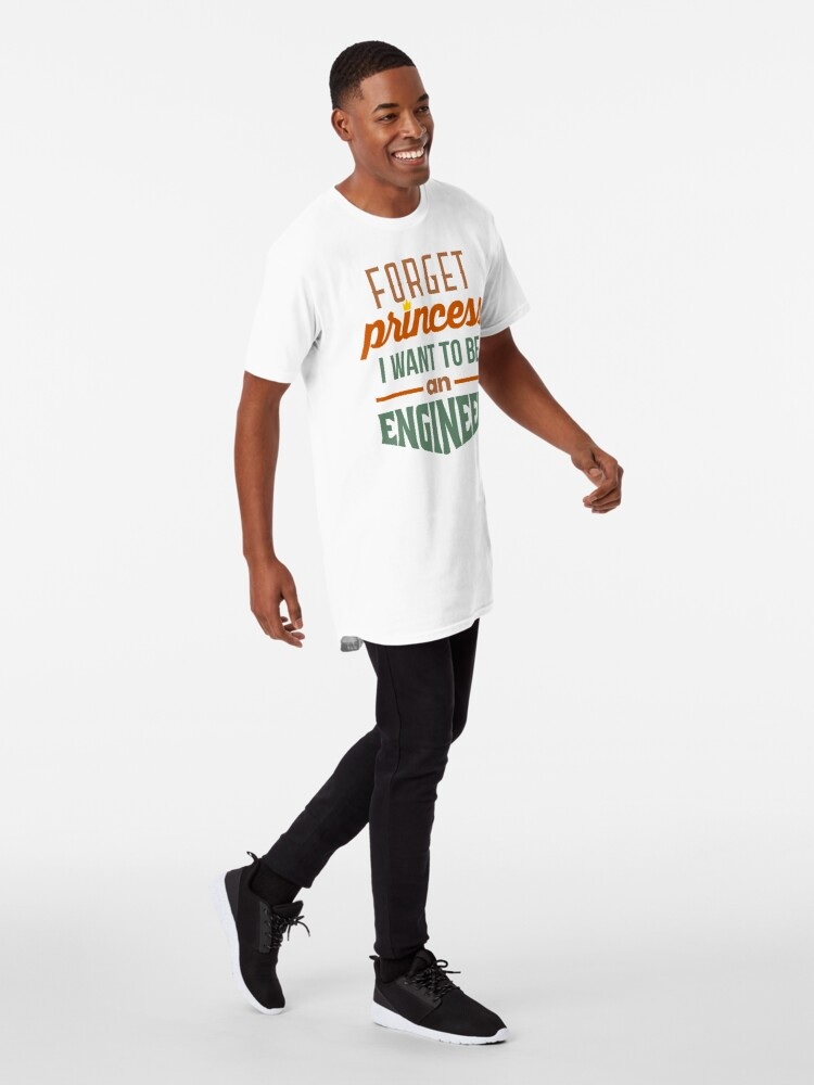 Alternate view of Forget Princess - Engineer Long T-Shirt