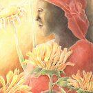Sunflower Woman by Ujean1974