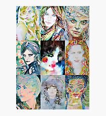 NINE PORTRAITS OF WOMEN Photographic Print
