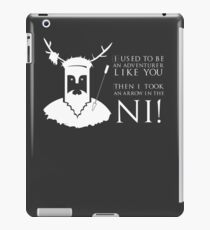 Arrow in the NI! iPad Case/Skin