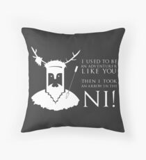 Arrow in the NI! Throw Pillow