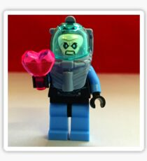 Mr. Freeze Valentines Sticker