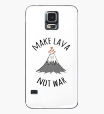 MAKE LAVA NOT WAR Case/Skin for Samsung Galaxy