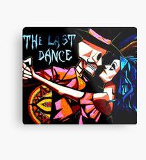 The Last Dance Metal Print