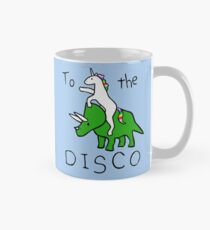 To The Disco (Unicorn Riding Triceratops) Mug
