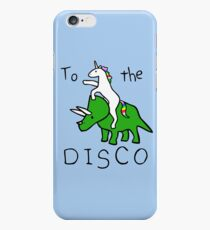 To The Disco (Unicorn Riding Triceratops) iPhone 6s Case