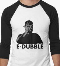 E-Dubble the legend | Artist Merchandise | Black Paisley  Men's Baseball ¾ T-Shirt