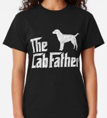 The Lab Father Labrador Retriever Dad Gift Classic T-Shirt