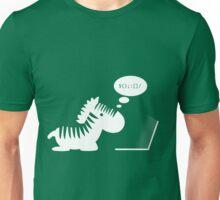 Programming zebra Unisex T-Shirt