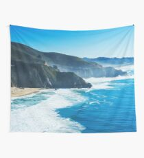 Seascape Cliff Photography #redbubble #cadinera #tapestry Wall Tapestry