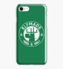 Christmas - Elf Made (Green) iPhone Case/Skin