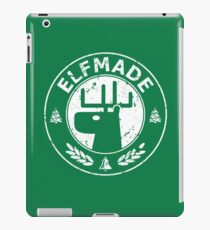 Christmas - Elf Made (Green) iPad Case/Skin