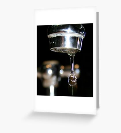 Before it falls..... Greeting Card
