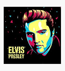 Elvis Art Photographic Print