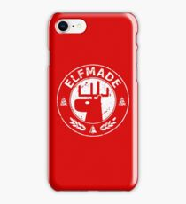 Christmas - Elf Made (Red) iPhone Case/Skin